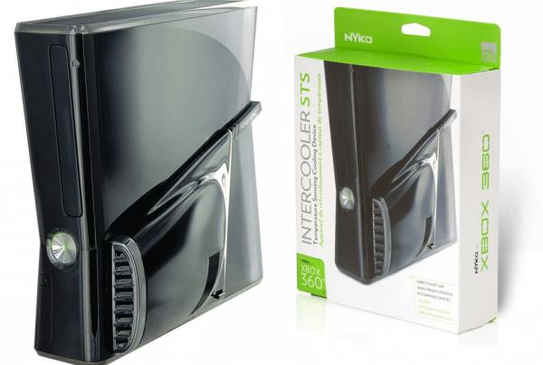 Test ventilateur Intercooler pour Xbox 360 slim